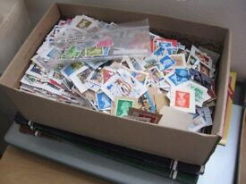 1 KG Kilo Box GB British Used Stamps For Art , Collages, e.t.c 1000s