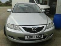 BREAKING MAZDA 6 1.8 PETROL ALL PARTS AVAILABLE.