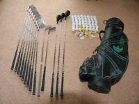 Set of Prosimmon Golf Clubs