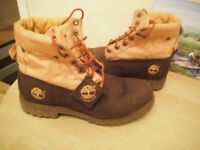 TIMBERLAND BOOTS SIZE 9.5