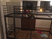 IKEA SVARTA BUNK BEDS SIX MONTHS OLD NO MATTRESSES £60 ONO