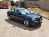 BMW 330D M SPORT BLUE E46 2003 MANUAL SPARES OR REPAIR
