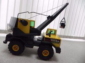 Genuine 1990's Tonka mobile crane in excellent condition