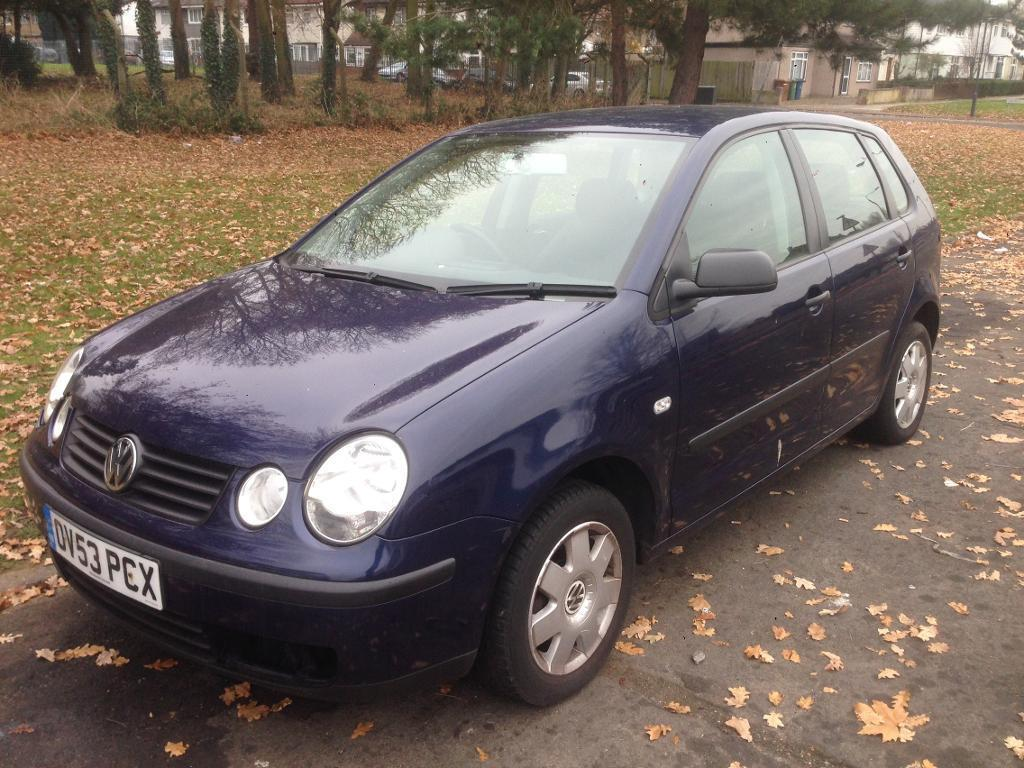 VW POLO 1.4 PETROL 53 PLATE EXCELLENT RUNNER £350