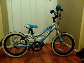 "Kids bike, CUDA BLOX, 16"" wheel size, silver/blue"