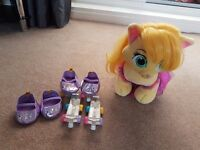 Build 'A' Bear Rapunzel's Palace Pet with Dress, Shoes and Roller Skates