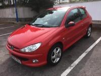 2005 PEUGEOT 206 2.0 HDI SPORT TURBO DIESEL, NEW MOT OCTOBER 2018, GREAT CONDITION, READY TO GO