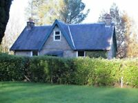 Peaceful 2 bedroom cottage to rent near New Abbey