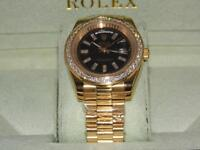 Rolex day date diamond