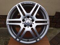 "OEM Mercedes AMG 18""x8J Alloy Wheel W207 09-16 E-Class Coupe/Cab"