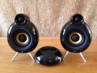 Scandyna Micropod SE Speakers + The Dock Amp + Remote