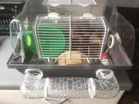 Small furry's cage