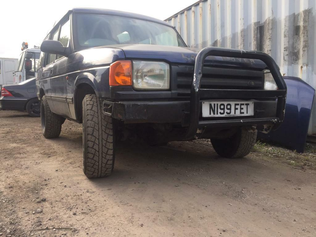 Land rover discovery 300 tdi off road mods