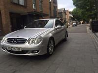 2007 MERCEDES CLK 220 CDI 2.5 COUPE 2 DOORS AUTOMATIC MILEAGE 91K