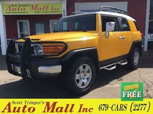 2007 Toyota FJ Cruiser 4WD, Auto, loaded! Very Rare!