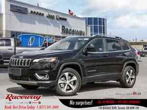 2019 Jeep New Cherokee Limited   PREM. LTHR   LUX GRP   SUNROOF