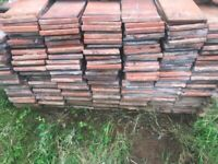 Reclaimed Clay roof tiles