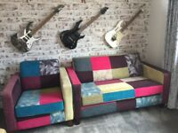 Retro sofa and chair
