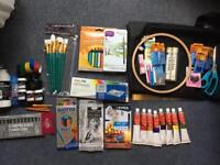 Art supplies for £100 valued at £300