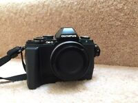 Olympus OM-D E-M10 camera with 14-42mm lens