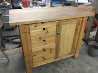 Workbench, Woodwork, Bike Rack, Storage