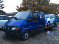 1988 Crewcab Ford Transit Recovery Truck