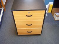 3 Drawer Wooden Cabinets £30.00