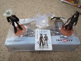 Disney Infinity Lone Ranger Play Set Pack Tonto PS3 Xbox 360 Wii