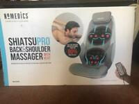 Homedics - ShiatsuPro back and shoulder massager with heat