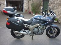 Absolutely mint one owner, dealer serviced 5,500 miles Yamaha TDM 900