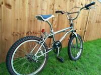 Chromed BMX Bike