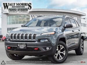 2015 Jeep Cherokee Trailhawk - LEATHER, BLUETOOTH