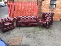 New chesterfield suite