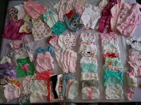 Large baby Girl clothes bundle