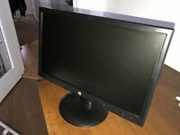 Almost NEW HP 19.45 inch LED back lit monitor with internal speakers!