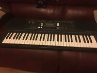 Yamaha psrE343 keyboard