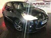 DS 3 1.6 BlueHDi DStyle Nav 3dr (start/stop) (black) 2015