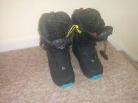 Ladies Ivy Solomon STR8JKT 2015 Snowboard Boots Size 7