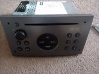 corsa c cdr 500 cd player with code