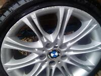 Genuine BMW 18in mv2alloys x4