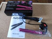 Babyliss Pro Nano 200 Mini salon ceramic straighteners