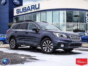 2016 Subaru Outback 3.6R, heated leather,nav,roof