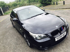 2009 BMW 535D M SPORT FULLY LOADED EXCENNET CAR CARBON BLACK MAY PX OR SWAP