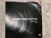 Native Instruments Traktor Scratch Timecode Vinyl x2