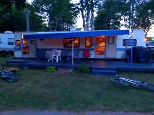 Camper for Rent at Vacation Land ,located 5minsto Brackley Beach