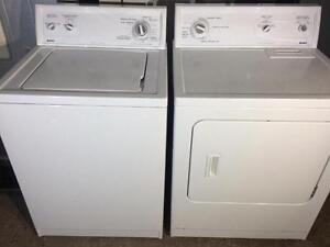 Kenmore Matching White Washer and Dryer, Free 30 Day Warranty
