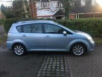 2004 Toyota Corolla Verso 1,8 litre 5dr 7 seater 1 owner