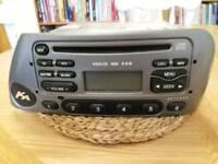 Ford KA 6000 cd radio player 1998--2006