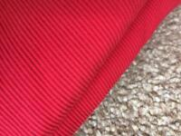 "10 metres Red fabric 60"" wide"