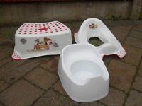 Paw Patrol toilet training set. New and unused
